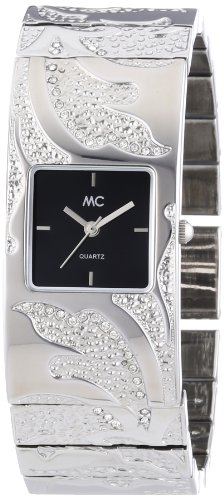 MC Timetrend Damen-Armbanduhr Analog Quarz Metallband 50573
