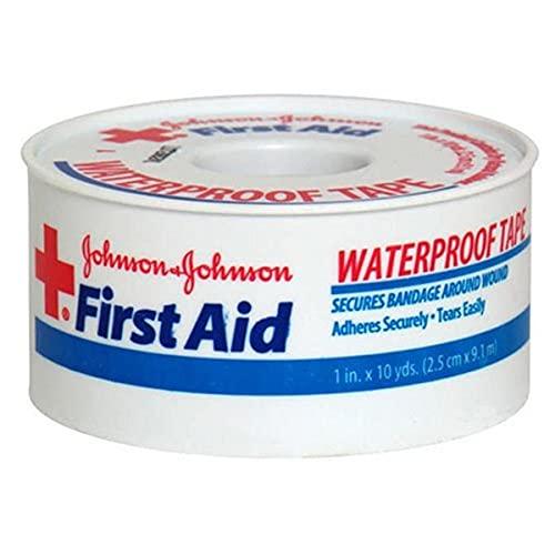 johnson johnson medical tapes Johnson & Johnson First Aid Waterproof Tape (Pack of 2)