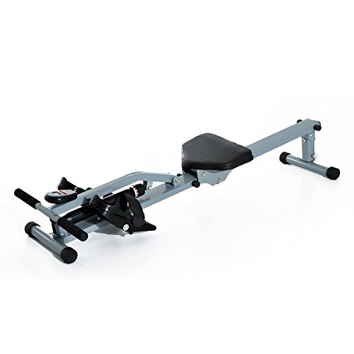 HOMCOM Rowing Machine Cardio Rower Workout Fitness Body Tonner Home Gym Training
