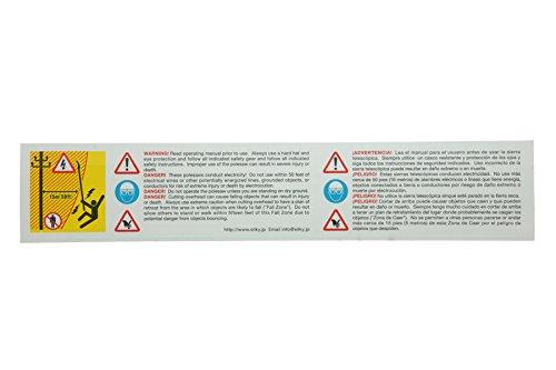 シルキー(Silky)高枝鋸ハヤテ4段最長6.1m372-42地上から安全に剪定本体(4段)