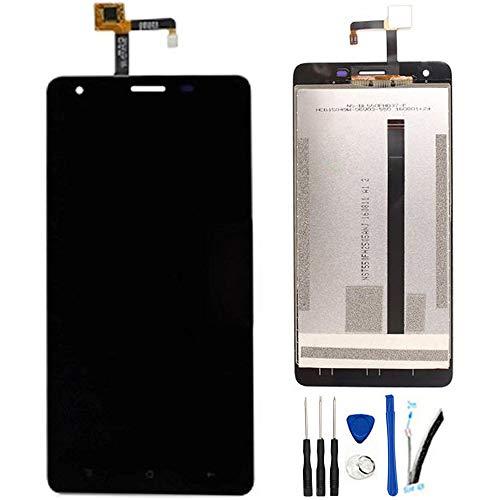 SOMEFUN Pantalla LCD Repuestos Compatible con Oukitel K6000 Pro 5.5' LCD Pantalla Táctil Digitalizador Asamblea de Vidrio (Negro)