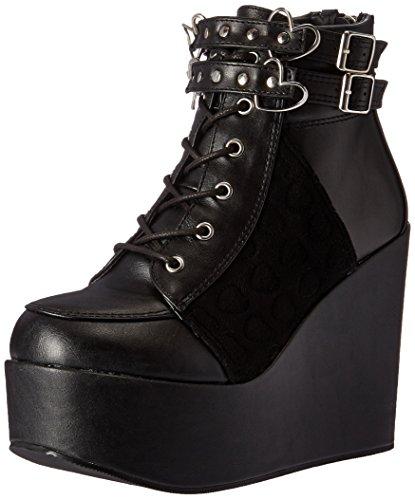 Demonia Poison 105 laarzen zwart