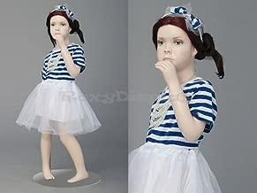 (MZ-ITA1) Cute Realistic Mannequin Child. Standing Pose