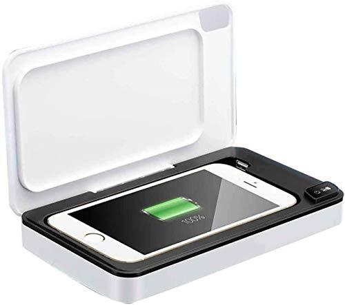 Met Usb-Oplader, Telefoon Sanitizer Sterilisator Doos Uv Smartphone,Sanitizer Met Uv Sanitizer Voor Iphone Android Mobiel Mp3-Spelers Bluetooth Koptelefoon Horloges Speelgoed Sleutels Sieraden