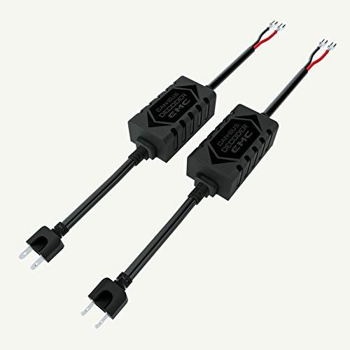 Hikari Pair LED Conversion Kit Headlight Canbus Error Free Anti Flickering Resistor Decoder - H7