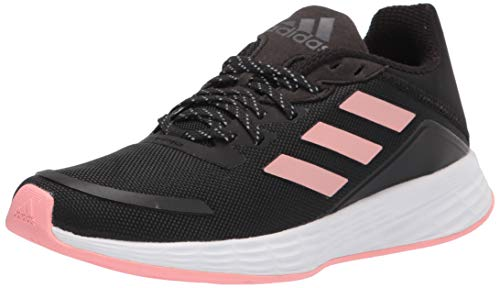 adidas Women's Duramo SL Running Shoe, Black/Glory Pink/Black, 10.5