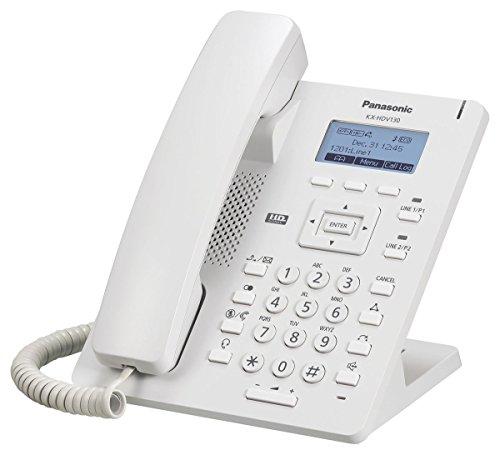 Panasonic Kx-HDV130 VOIP Telefone, weiß
