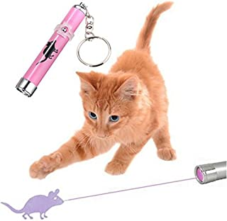 Goshang 猫おもちゃ マウス ネズミ LEDライト プロジェクション ランプ ペット運動不足解消