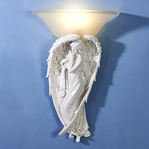 Raxinbang Luces de Pared Dormitorio Interior Lámparas De Noche Sala De Estar Caliente Lámpara De Pared TV Fondo Lámpara De Pared Escalera Balcón Lámpara De Pared