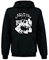 Animal Liberation Front (ALF) Kapuzenpullover, Schwarz