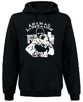 Animal Liberation Front (ALF) Kapuzenpullover, Schwarz in versch. Größen