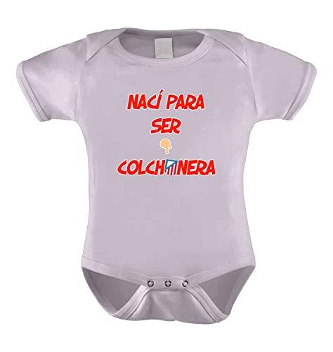 CamisetasATM1903 Body ATLÉTICO DE Madrid NACÍ para SER COLCHONERA Y del Atleti