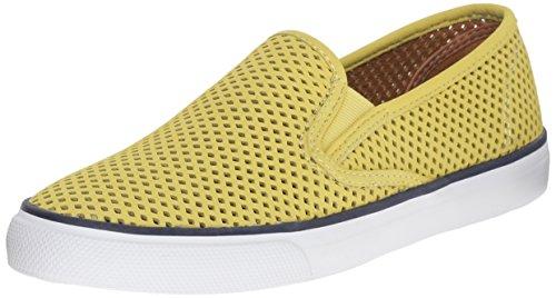Sperry Top-Sider Seaside Fashion Sneaker für Damen, Gelb (gelb), 38 EU