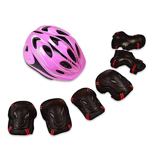BCBIG - Juego de equipo de protección para rodillos (casco, rodilleras, coderas...