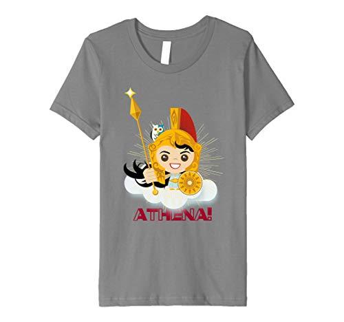 Kids Athena Greek Mythology Goddess of War & Wisdom Girls T-Shirt Premium T-Shirt