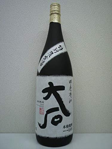 [箱なし] 大石 樽貯蔵 米焼酎 25度 1800ml