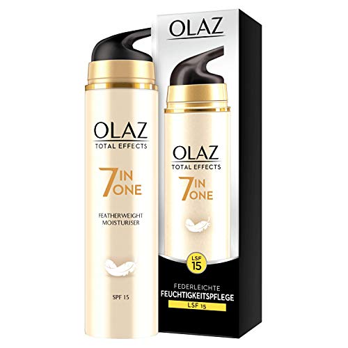 Olaz Total Effects Anti-Aging 7-in-1 Federleichte Tagespflege Mit LSF 15 50 ml