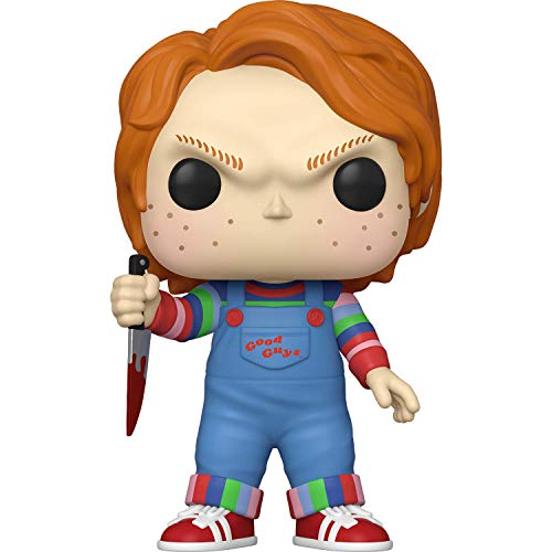 Chucky: 10in Funko Pop! Movies Vinyl Figure Bundle with 1 Compatible Protector (973 - 49002 - B)