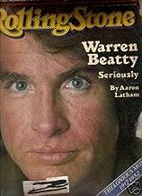 warren beatty issue # 366 ROLLING STONE MAGAZINE AUGUST 1ST, 1982