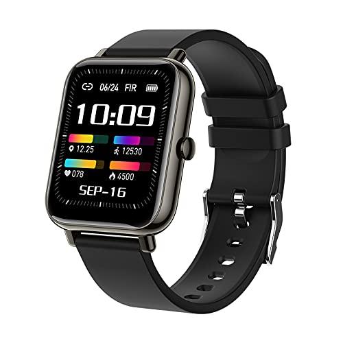 P22PLUS Smart Watch, Fitness Tracker, Monitor de Ritmo cardíaco Podómetro Contador de calorías, Reloj Deportivo Impermeable IP68 con Pantalla HD de 1.69 Pulgadas, Regalo cálido