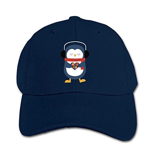 Take My Heart Penguin Unisex Sports Cap Teen Hut Sunproof Kids Cap Hip-Hop Cap Verstellbare Baseball Cap Sun Hat für Kinder