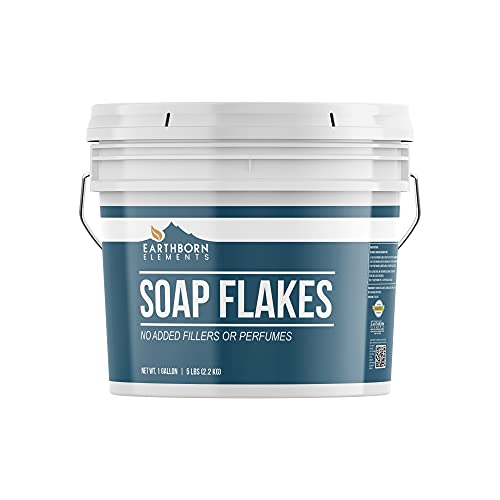 Soap Flakes (1 Gallon) Make Liquid or Powdered Homemade Laundry Detergent, Plant...