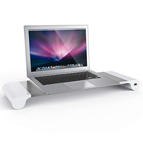 VIE Computer Monitor Stand Tray Rechargeable Laptop Stand Table,UK Socket