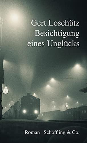 Buchseite und Rezensionen zu 'Besichtigung eines Unglücks: Roman' von  Gert Loschütz (Autor)