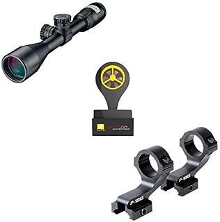 Nikon P-223 3-9x40 Matte BDC 600 P-Series Mount with Windmeter (Black)