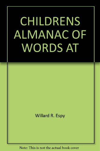 CHILDRENS ALMANAC OF WORDS AT