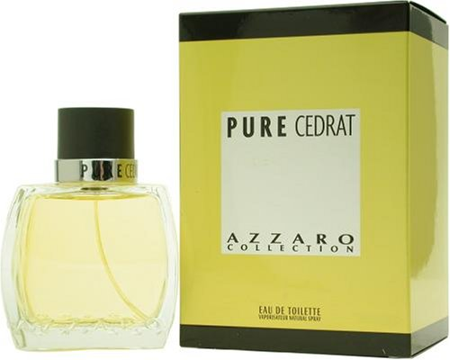 Azzaro Pure Cedrat by Azzaro For Men. Eau De Toilette Spray 2.5-Ounces by Azzaro
