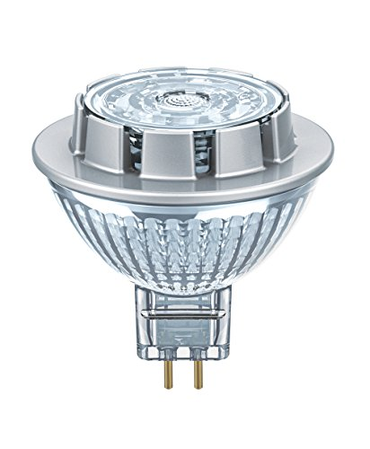 Osram LED STAR MR16 / Spot LED, Culot GU5.3, 7,2W Equivalent 50W, 12 V, Angle : 36°, Blanc Froid 4000K, Lot de 1 pièce