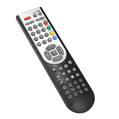 Docooler RC1900 Control Remoto para Oki HITACHI Alba CELCUS Luxor GRUNDIG Sharp JMB TELEFUNKEN Bush TECHWOOD Akai NEVIR SANYO LCD LED Plasma Smart TV Negro
