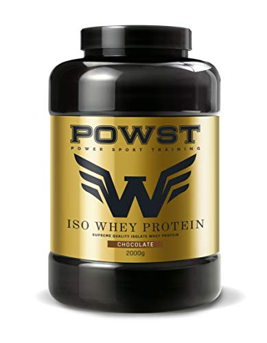 POWST Premium Quality Whey-Isolate Proteína Chocolate 2000g.