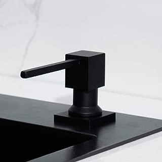 Kitchen Sink Soap Dispenser,Matte Black Oil Rubbed Bronze Built in Pump Kitchen Sink Dish Soap Dispense-c