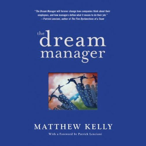 The Dream Manager audiobook cover art