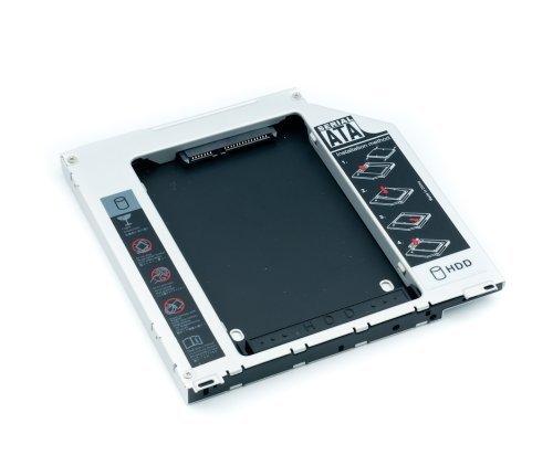 """QUMOX 2ème SATA 2.5 """"HDD Disque dur chariot baie pour MacBook Pro monocorps SuperDrive"""