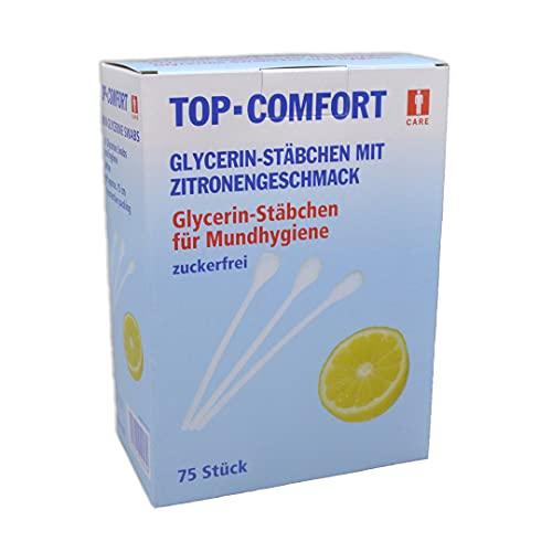 AMPRI Lemon Sticks - Mundpflegestäbchen - 150 mm - 75 Stück