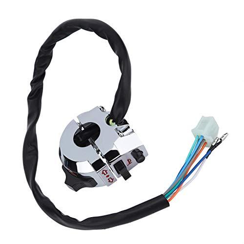 Interruptor de bocina Interruptor de manija anticorrosión para una conducción segura para proteger la seguridad para mejorar la apariencia para viajes de larga distancia