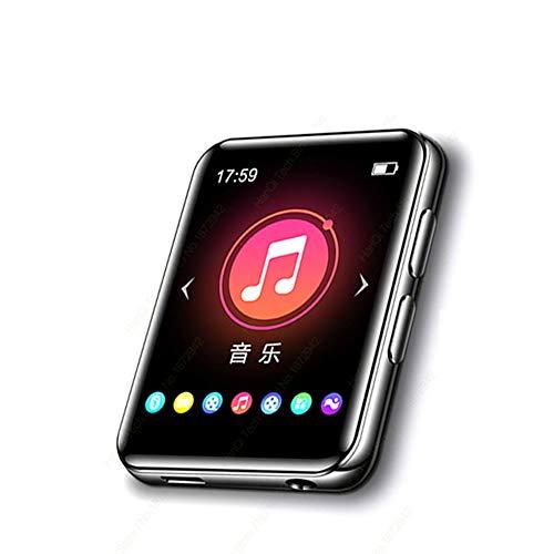 DIDIOI Touch Screen Bluetooth MP3 Speler, Draagbare Audio Muziek Video Speler met ingebouwde luidspreker FM Radio Recorder E-Book
