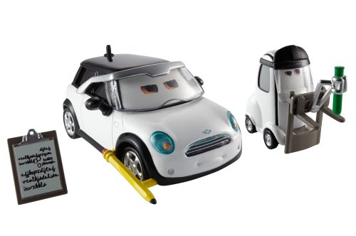 Disney – Cars – Mel Dorado – Jessica Giampetrol & Nate Stanchion – 2 Véhicules Die Cast 5 cm