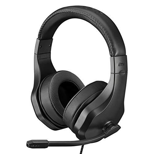 Nitho Auriculares Estéreo NX120S con Micrófono Plegable pa