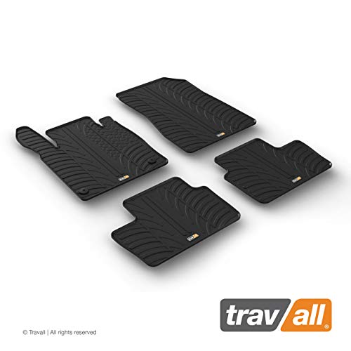Travall Mats Gummifußmatten Kompatibel Mit Nissan Juke (Ab 2019) TRM1395 - Allwettermatten Nach Maß Fussmatten Set