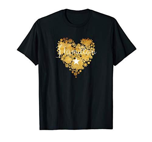 I Love Hamilton Heart Shirt