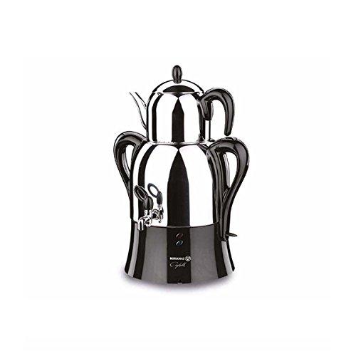 korkmaz Caykolik A341 Samovar Stainless Steel Electric Turkish Tea Maker Tea Machine 220v EU Plug