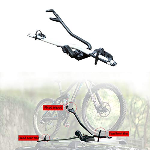 XINGXINGNS Fiets Auto Dak Dakdrager Vork Bevestiging Rack Hitch Bike Rack voor auto, Hitch mount Bike Rack Fiets Carrier, Fiets voor Gemakkelijke Toegang