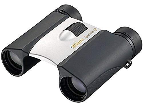 Nikon 10 x 25 Sportstar EX DCF Schwarz, Silber Fernglas - Ferngläser (280 g, 114 x 103 x 0 mm)