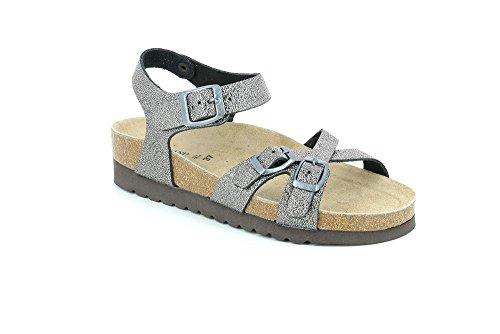 Grunland Hola (SB0929-11) - Sandalo con Cinturino a Fibbia da Donna (38 EU)