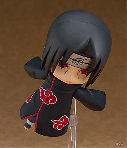 Ylout Naruto Shippuden Uchiha Itachi Anime Figura De Acción Juguetes De PVC Figuras De Colección para Regalos De Amigos 10Cm