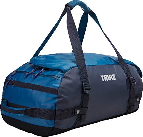 Thule Chasm Duffel Bag 40L (Rucksack und Reisetasche in einem) Blau (Poseidon), Erwachsene